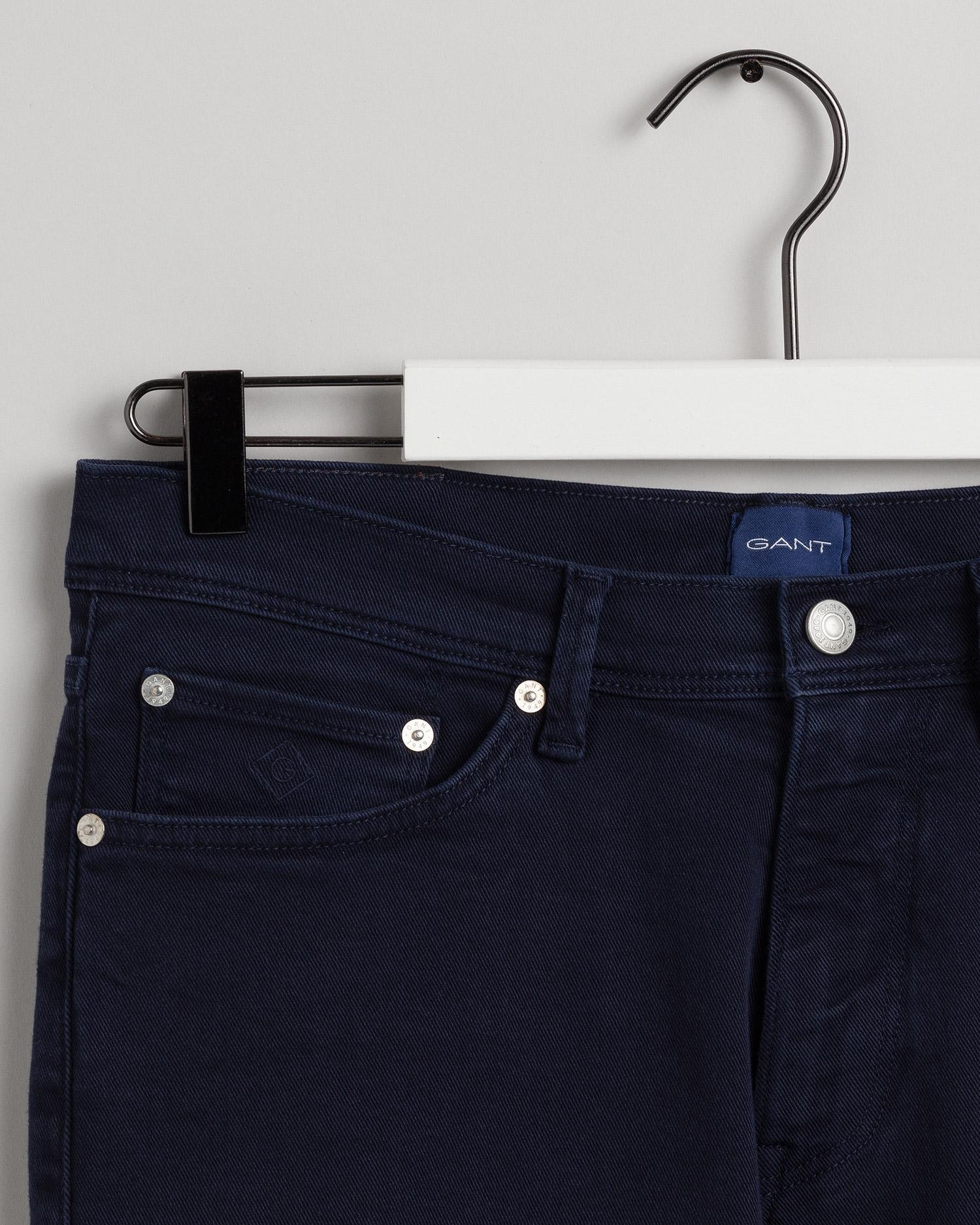 GANT kolorowe męskie dżinsy Maxen Extra Slim Fit Active-Recover - 1000180
