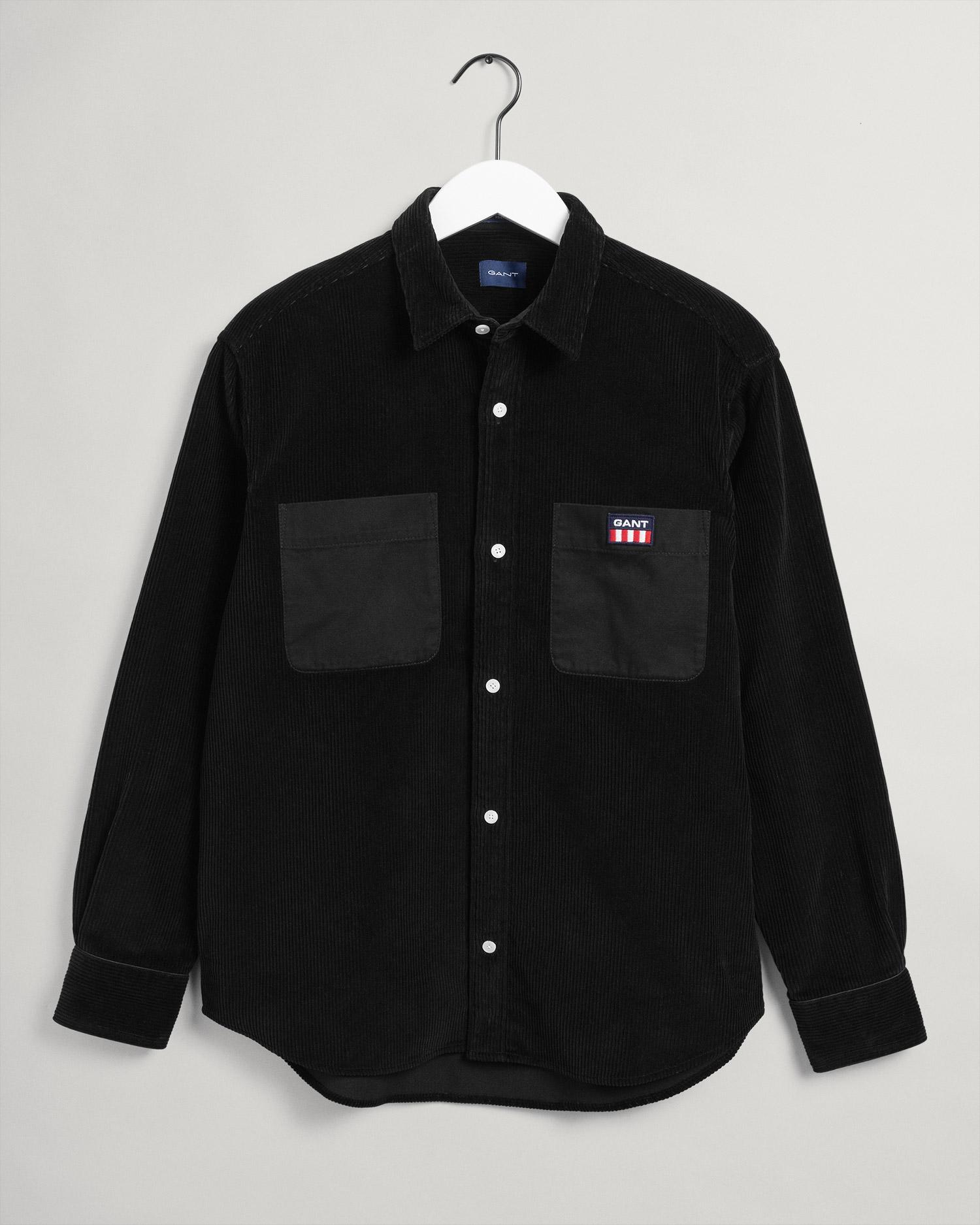 GANT męska koszula sztruksowa Relaxed Fit Chunky - 3015874