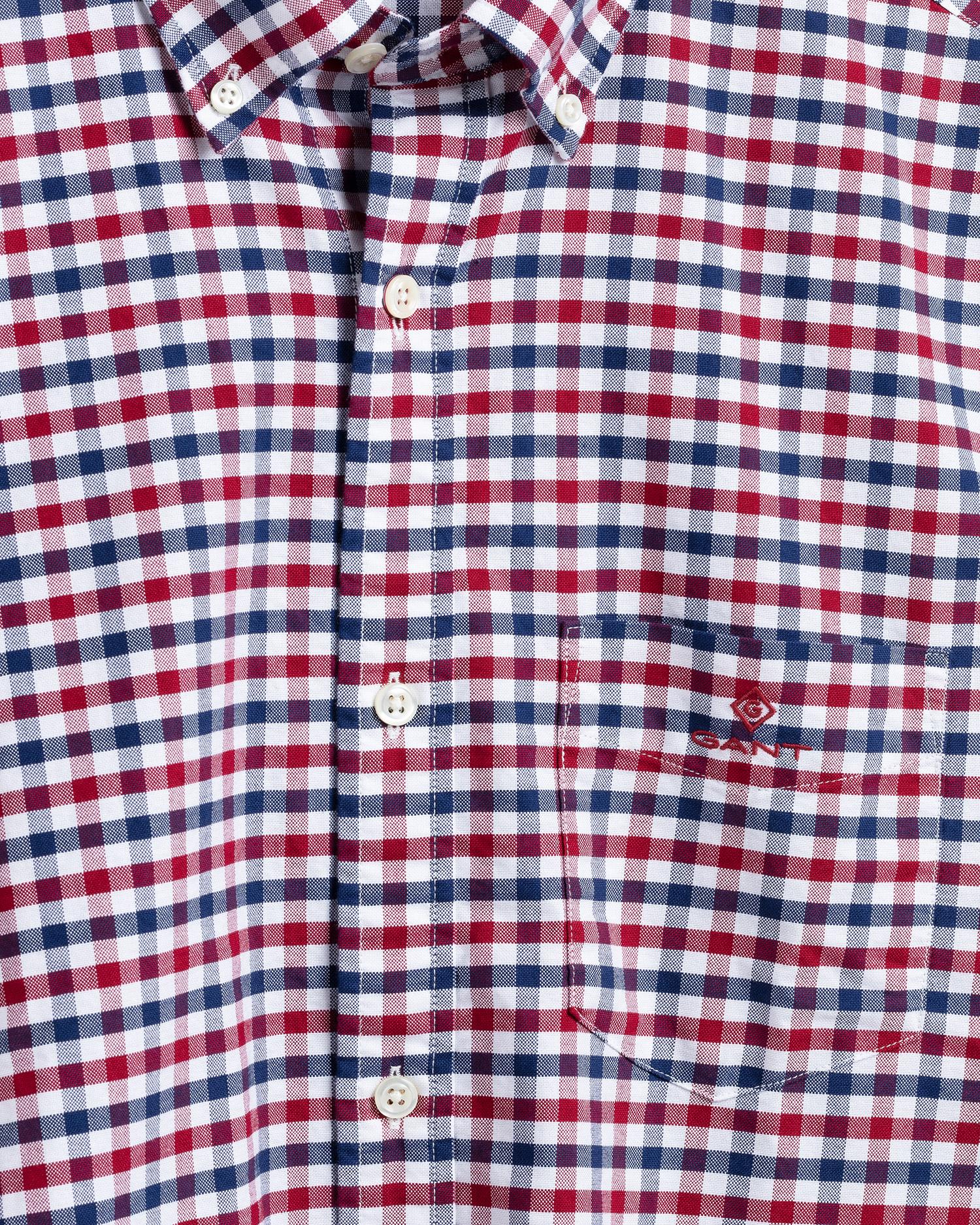 GANT męska koszula 2-kolorowa Gingham Oxfort Regular Fit - 3060600