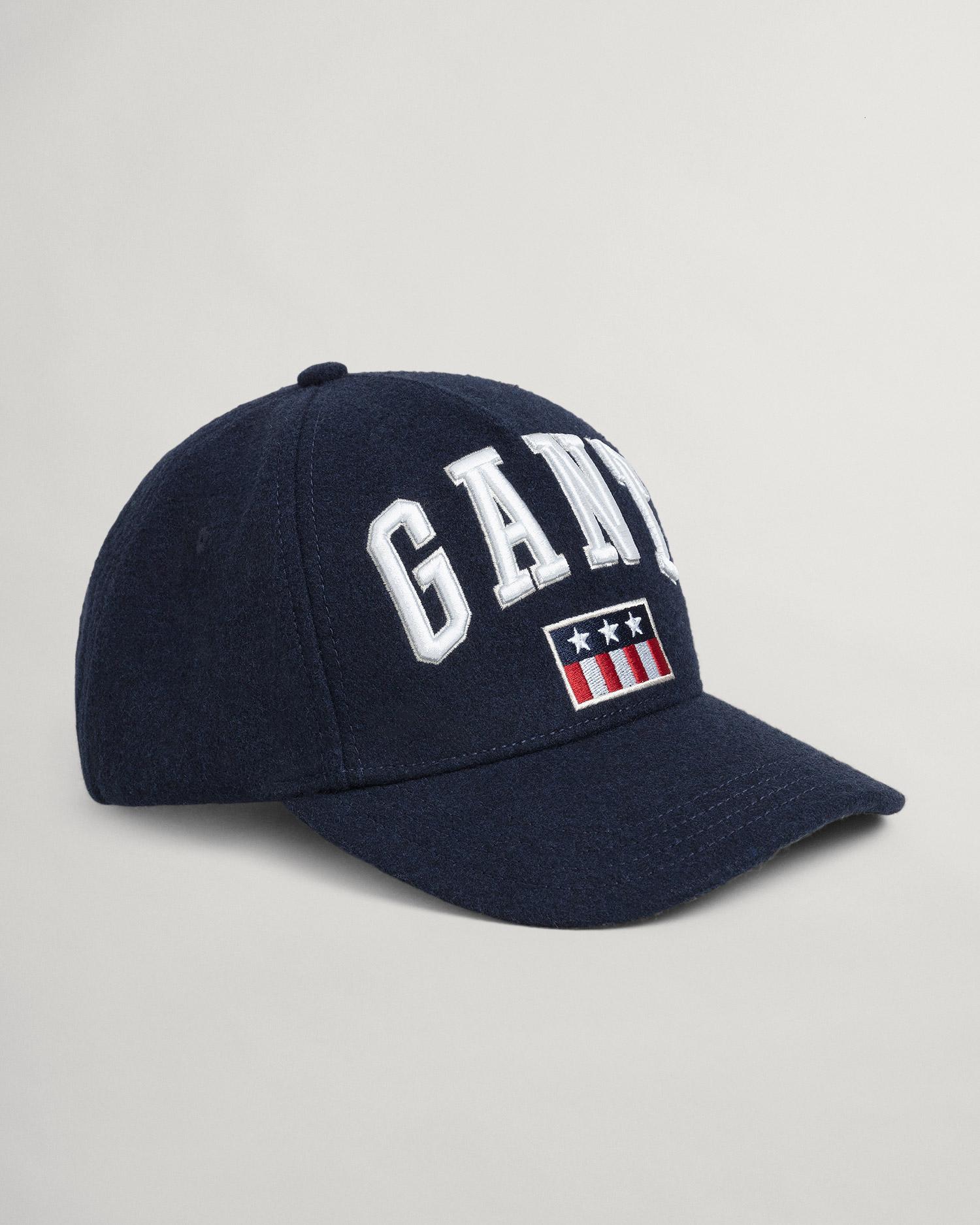 GANT czapka wełniana z nadrukiem - 9900069
